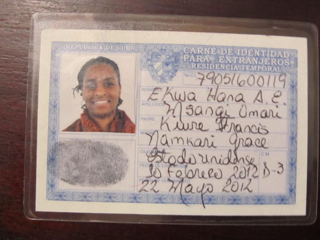 Ekwa Cuba ID