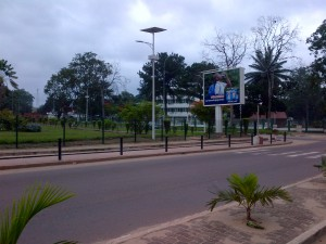 The streets of Centreville, Brazzaville